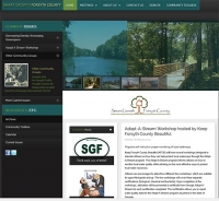 Web Site for a Local Organization